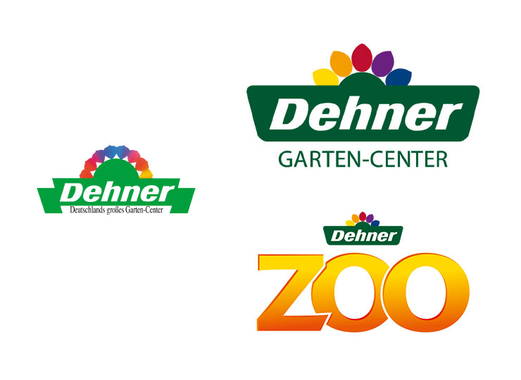 Referenzkunde Dehner Konzeption Logos