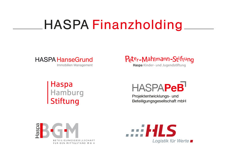 Referenzkunde HASPA Konzeption Logos