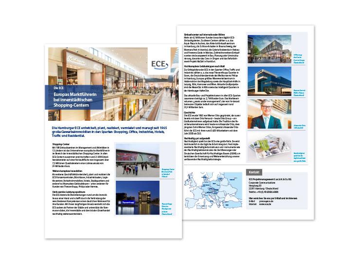 Referenzkunde ECE Template für Center-Broschüre 1