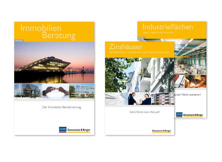 Referenzkunde Grossmann & Berger Immobilienbroschüren 1