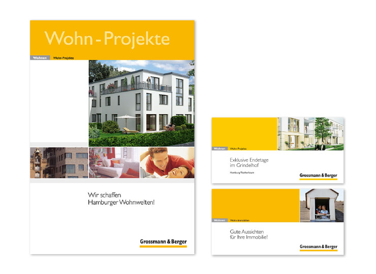 Referenzkunde Grossmann & Berger Immobilienbroschüren 3