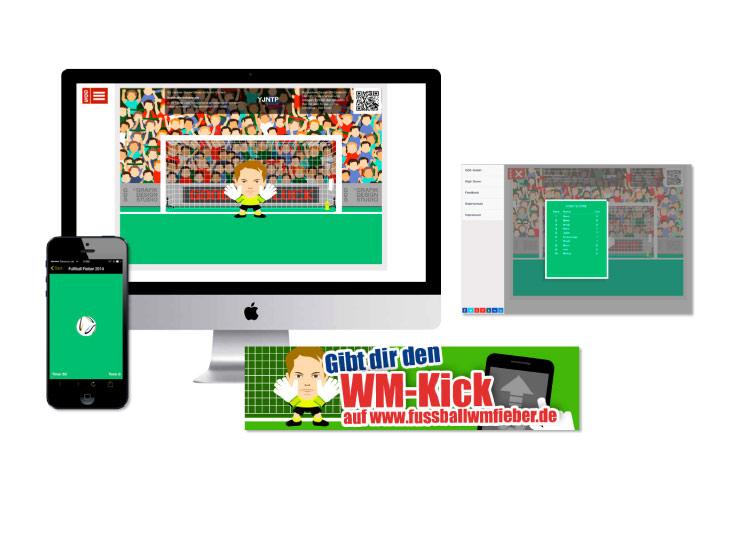 Referenzkunde GDS VR App Kickspiel
