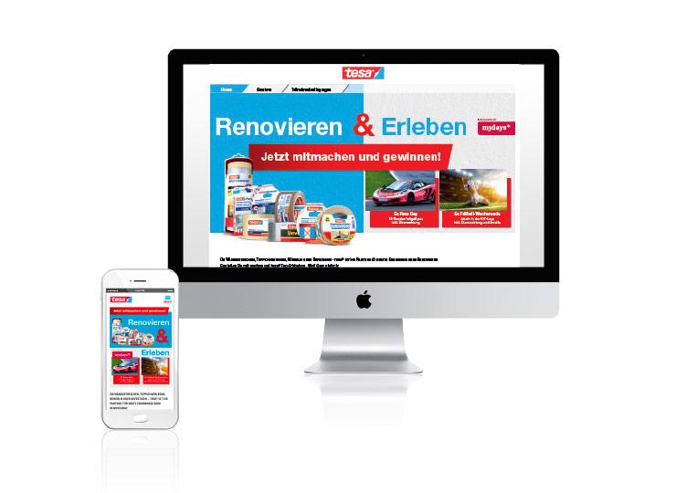 Referenzkunde Baudek & Schierhorn Markenaktion für tesa