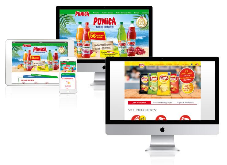 Referenzkunde Baudek & Schierhorn Markenaktionen für Pepsico