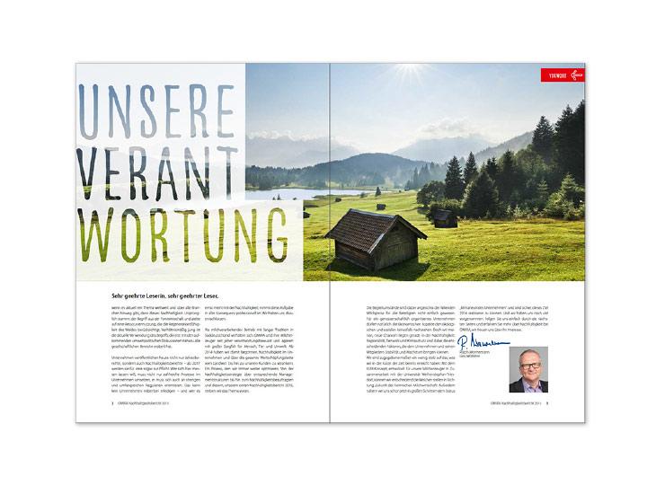 Referenzkunde Omira Geschäftsbericht 2015 Insight