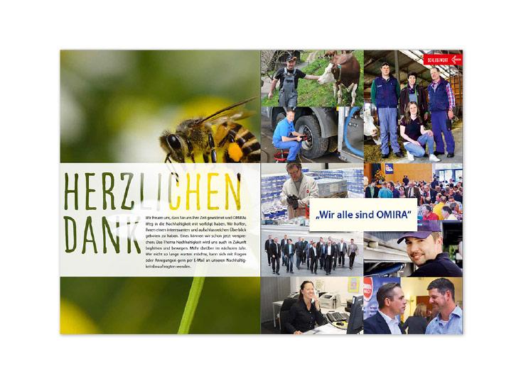 Referenzkunde Omira Geschäftsbericht 2015 Insight 2