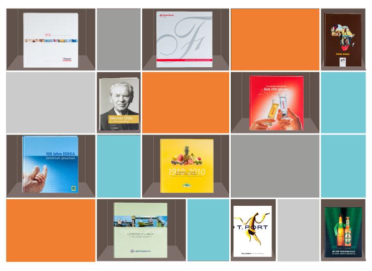 Referenzkunden Jubiläumsbücher