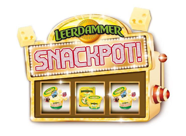 Referenzkunde Leerdammer Snackpot Kampagne 1