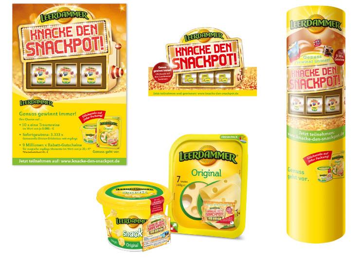 Referenzkunde Leerdammer Snackpot Kampagne 3