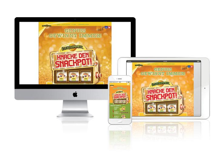 Referenzkunde Leerdammer Snackpot Kampagne 4