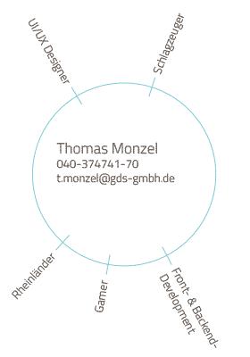 Skills und Kontakt Mitarbeiter Thomas Monzel