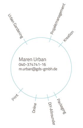 Skills und Kontakt von Mitarbeiterin Maren Urban